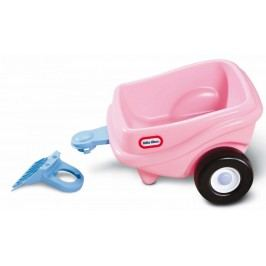 Little Tikes Přívěs ke Cozy Coupe, růžový