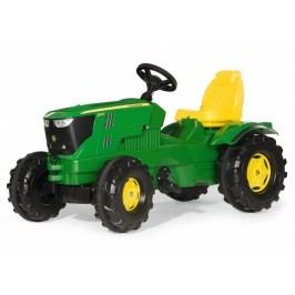 Rolly Toys Šlapací traktor Farmtrac John Deere 6210, zelený
