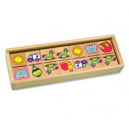 ANDREU Toys Obrázkové domino