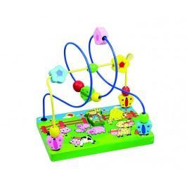 ANDREU Toys Provlékací labyrint s farmářem