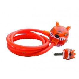 Crazy Safety Zámek na kolo Oranžový tygr