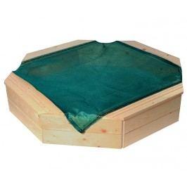 WOODY Pískoviště dřevěné přírodní