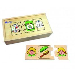 ANDREU Toys Puzzle s činnostmi
