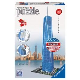 Ravensburger Puzzle World Trade Center 3D 216 dílků
