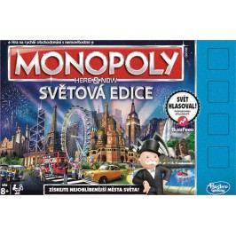 Hasbro Monopoly Teď a tady Světová edice CZ
