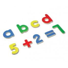 ANDREU Toys Sada magnetických písmen a číslic 75ks