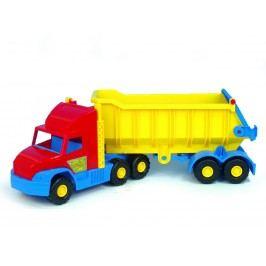 WADER Auto Super Truck sklápěč plast 75 cm