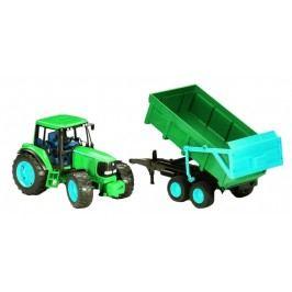 Bruder Farmer - John Deere 6920 traktor s vyklápěcím přívěsem 1:16