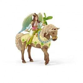 Schleich Víla Sura ve slavnostním oděvu na koni