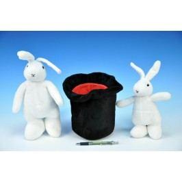 Mikro hračky Bob a Bobek 25 cm 20 cm plyš s kloboukem