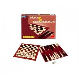 Dino Hra Dáma a Backgammon