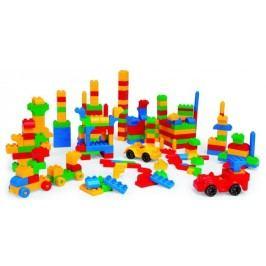 WADER Kostky stavebnice Mini Blocks plast 300 ks
