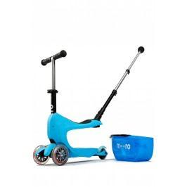 Micro Tříkolka Mini2go Deluxe Plus - modrá