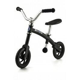 Micro Odrážedlo G-Bike+ Chopper - černé