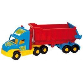 WADER Auto Super Truck sklápěč 75 cm - modrý