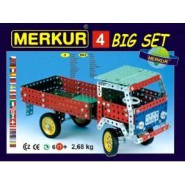 Merkur Stavebnice 4 40 modelů - 602 ks, 2 vrstvy