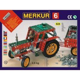Merkur Stavebnice 6 100 modelů - 940 ks, 4 vrstvy