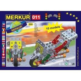 Merkur Stavebnice 011 Motocykl 10 modelů - 230 ks