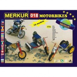 Merkur Stavebnice 018 Motocykly 10 modelů - 172 ks