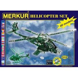 Merkur Stavebnice Helikopter Set 40 modelů - 515 ks