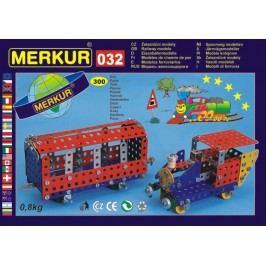 Merkur Stavebnice 032 Železniční modely 10 modelů - 300 ks