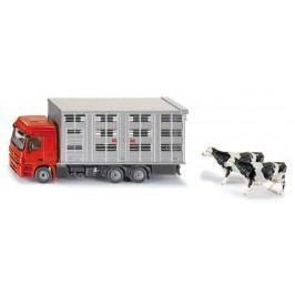 Super - Transportér pro přepravu hospodářských zvířat + 2 krávy, 1:50