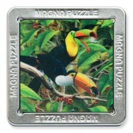 Piatnik 3D Magnetické puzzle Tukan 16 dílků
