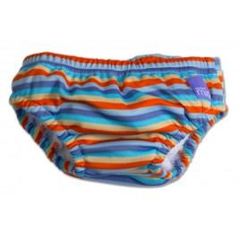 Bambinomio Kalhotky koupací, Orange stripe S