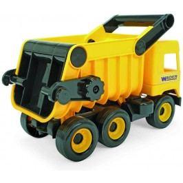 WADER Auto middle Truck sklápěč žlutý