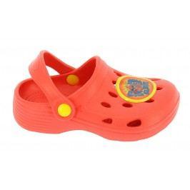 Disney by Arnetta Chlapecké sandály ANGRY BIRDS - červené