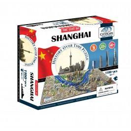 4D CITYSCAPE 4D Puzzle - Shanghai