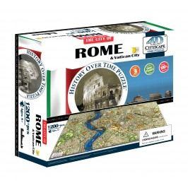 4D CITYSCAPE 4D Puzzle - Řím & Vatikán