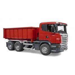 Bruder Scania nákl. auto se sundavací korbou