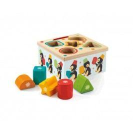 Djeco Vkládací krabička s tučňáky