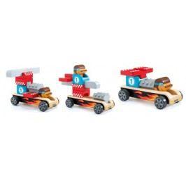 Djeco Dřevěné závodnické auto