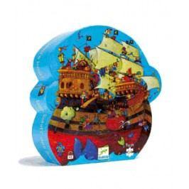 Djeco Puzzle Pirátská loď Barbarossa