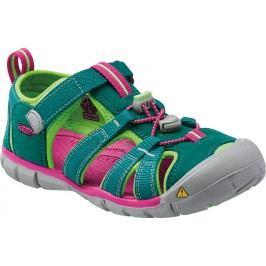 Keen Dívčí sandály Seacamp II CNX, everglade/jasmine green