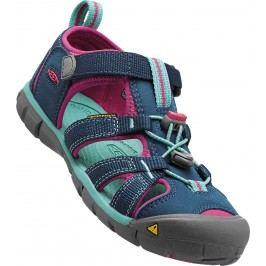 Keen Dívčí sandály Seacamp II CNX, poseidon/very berry