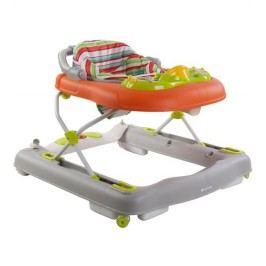 Sun Baby Dětské chodítko 3in1, Pusher-musical jumper, oranžové