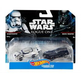 MATTEL Hot Wheels Star Wars Death Trooper angličák, 2 ks