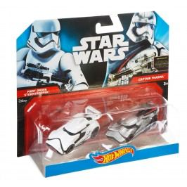 MATTEL Hot Wheels Star Wars Captain Phasma angličák, 2 ks