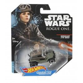MATTEL Hot Wheels Star Wars Angličák - Sergeant Jyn Erso