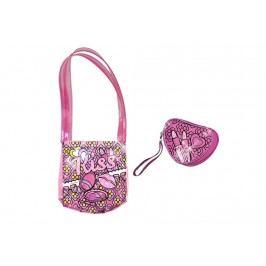 Alltoys Color Me Mine kabelka + peněženka průhledná