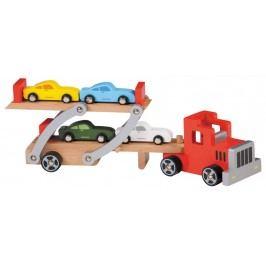 Alltoys Dřevěný převažeč aut