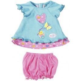 BABY born® Modré šatičky s motýlkem