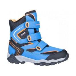 ALPINE PRO Chlapecké zimní boty Dairo - modré