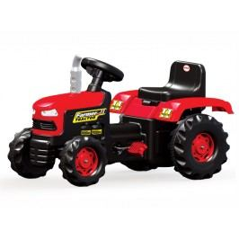 DOLU Velký šlapací traktor, červený