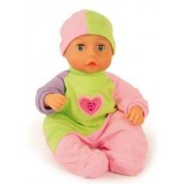 Bayer Design Mluvící miminko zeleno růžové 33 cm