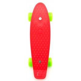 Teddies Pennyboard 43cm - červený