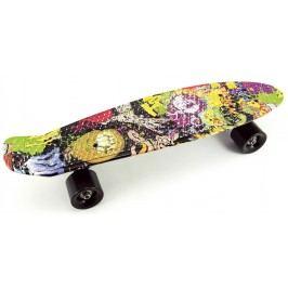 Teddies Pennyboard 60cm - barevný